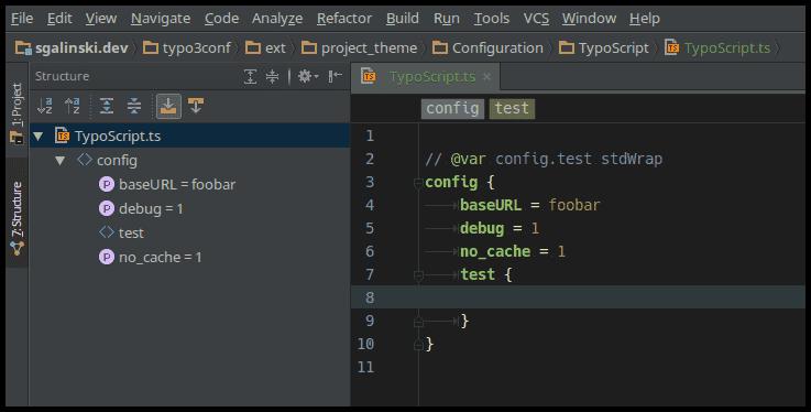 TypoScript support for PHPStorm, WebStorm and IntelliJ
