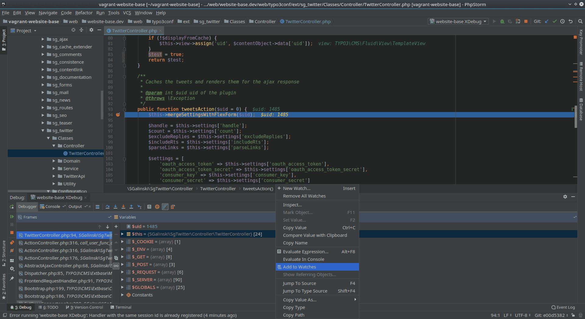 PhpStorm: An IDE for TYPO3? - sgalinski