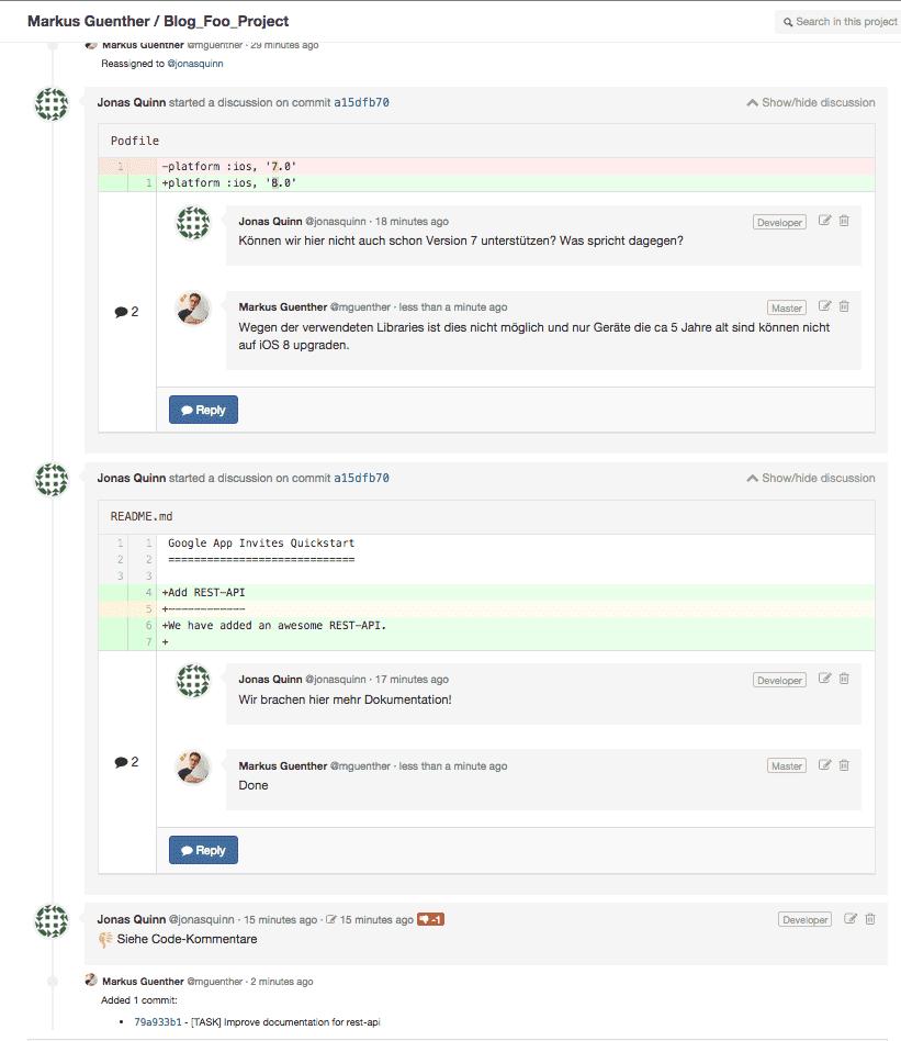 Gitlab Merge Requests Easily Explained - sgalinski